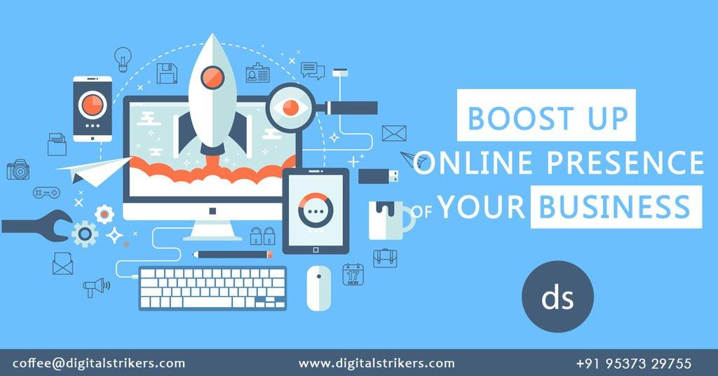 digital marketing company - digitalstrikers